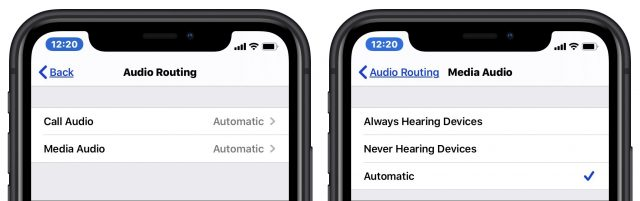 Audiopad-instellingen