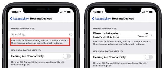Een gehoorapparaat dat gekoppeld is met iOS
