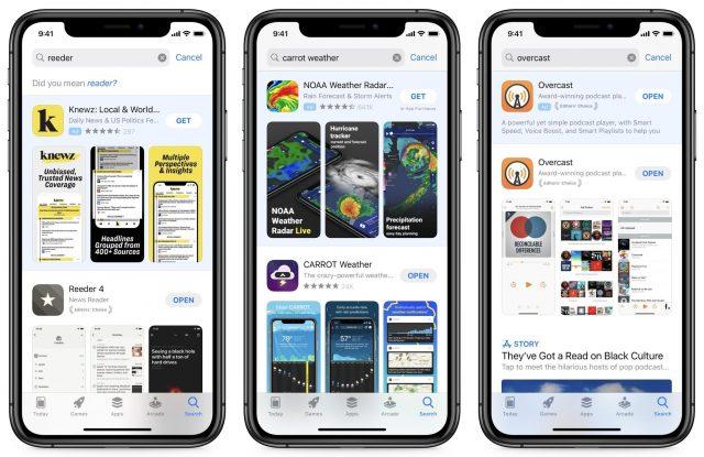 App Store ads