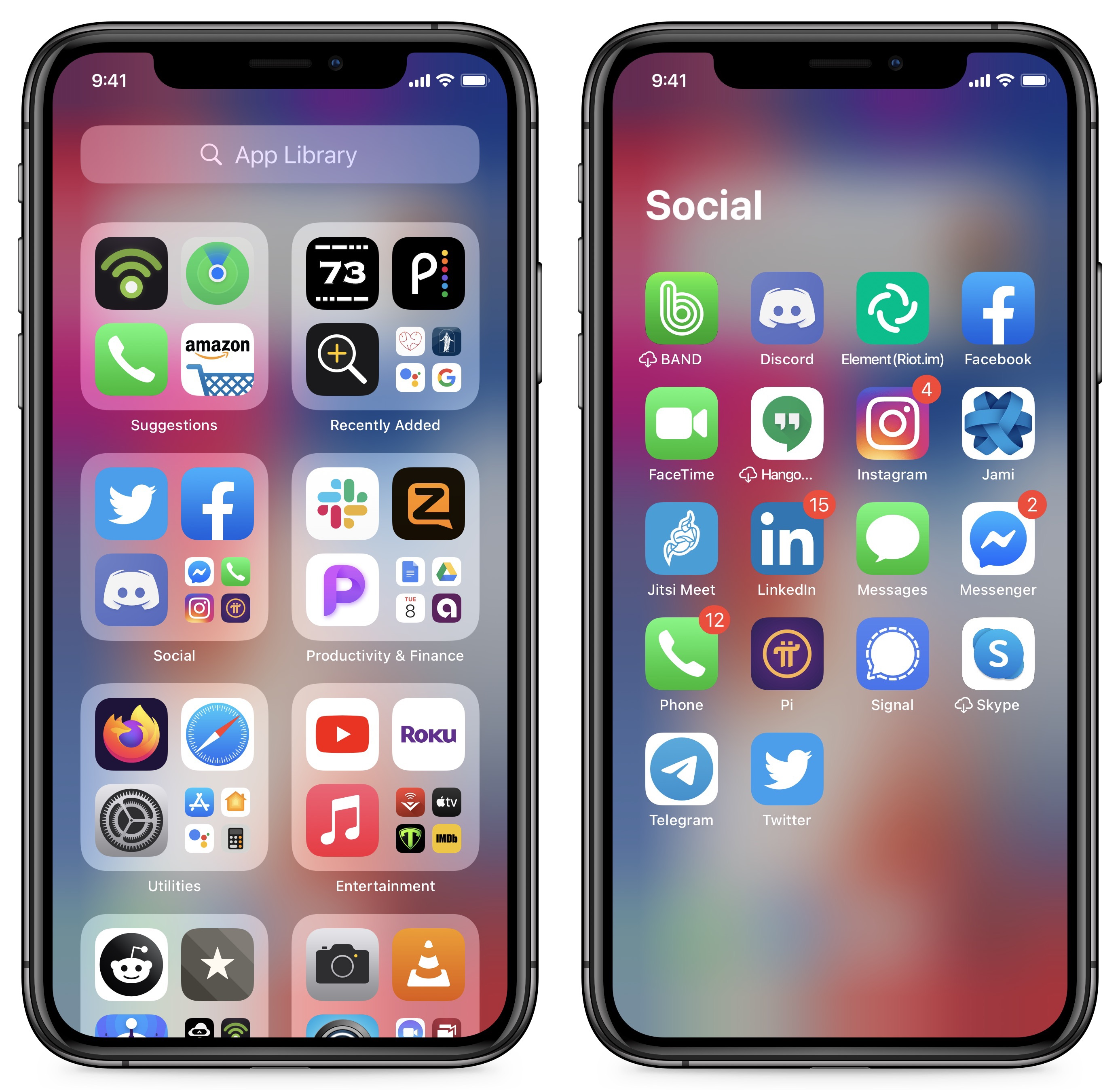 Organize Home Screen Iphone 12