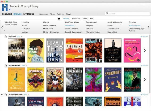 Cloud Library Mac app