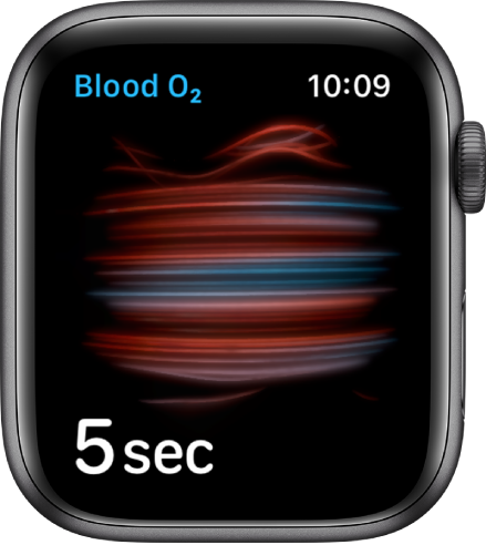 Apple Watch O2 reading