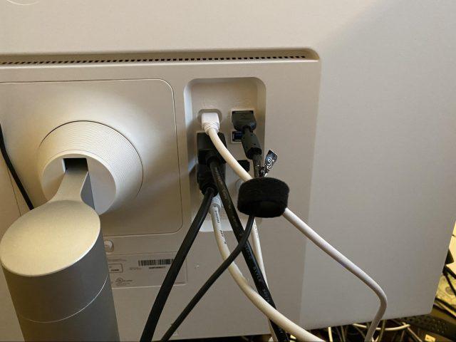 LG 27UK850-W plugs
