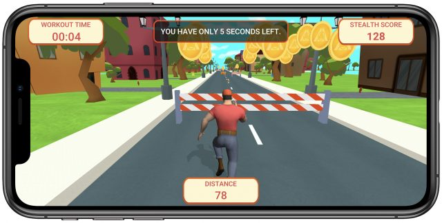 Stealth Fitness game Fun Runner