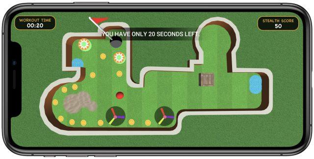 Stealth Fitness game Mini Golf Mania