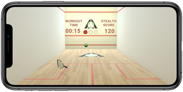 Stealth Fitness game Racquetball