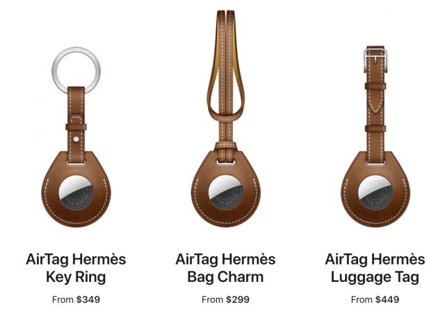 AirTag Hermes accessories