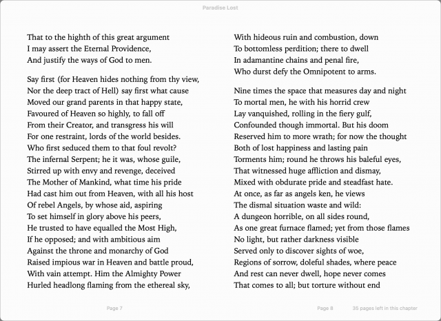 Paradise Lost in Apple Books on iPad