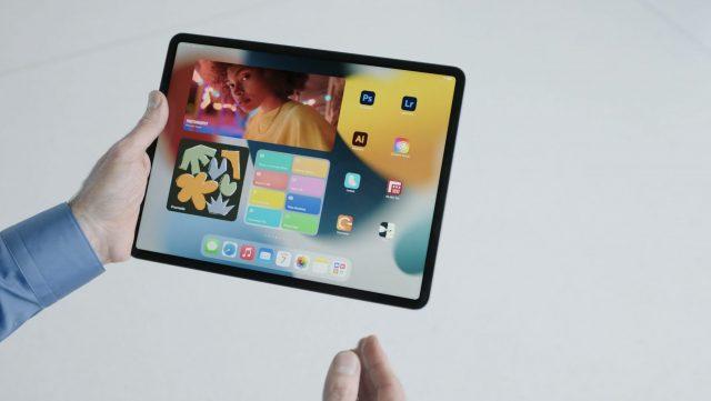 Widgets in iPadOS 15