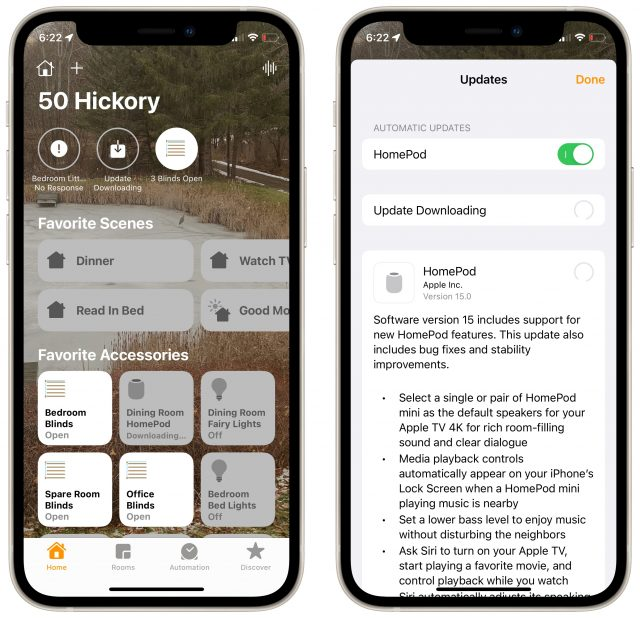 HomePod 15 release notes
