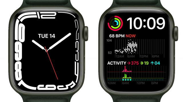 New watch faces on the Series 8