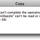 A Finder-Copying Bug in Snow Leopard