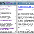 Free TidBITS News iPhone App