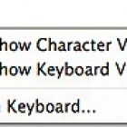Use Keyboard Viewer to Type Special Characters