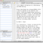 BBEdit 10 Improves UI, HTML Markup, and EPUB Editing