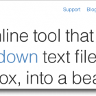 Calepin Redux: Minimalist Blogging Platform Goes Open Source