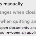 OS X 10.8.3 Checkbox Restores Snow Leopard Document Saving