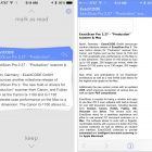 Triage for iOS Enables Quick Email Checks