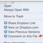 Dropbox Adds File Comments