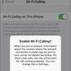 Turn on Wi-Fi Calling in iOS 9