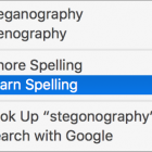 How to Unlearn Misspellings and Sync Your User Dictionary in OS X