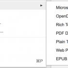 Google Docs Exports EPUBs, But Not Well