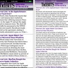 TidBITS News Shows How an Old 32-bit iOS App Becomes 64-bit