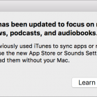 iTunes 12.7 Giveth, but Mostly It Taketh Apps and Ringtones Away
