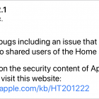 Apple Releases iOS 11.2.1 and tvOS 11.2.1 to Fix HomeKit Vulnerability