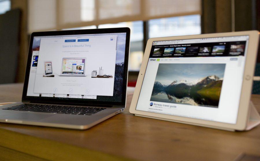 Duet Display on MacBook and iPad