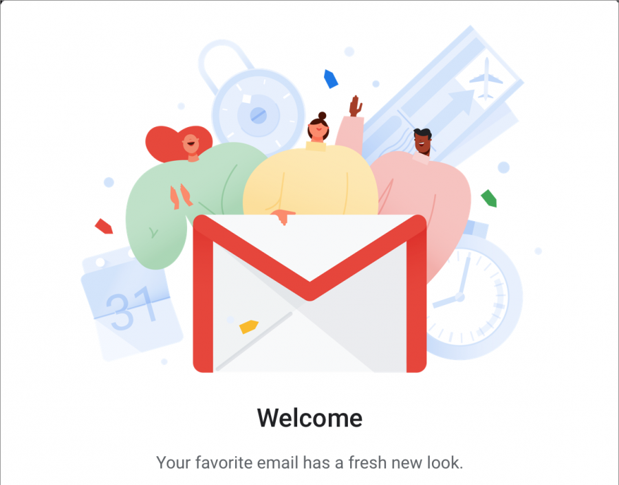 Gmail splash screen