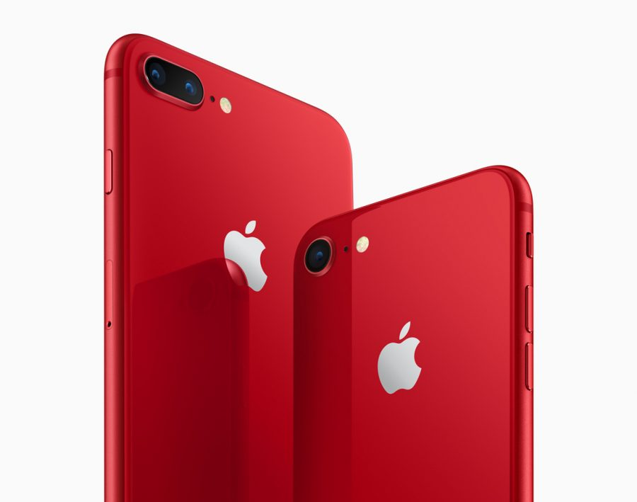 PRODUCT(RED) iPhones