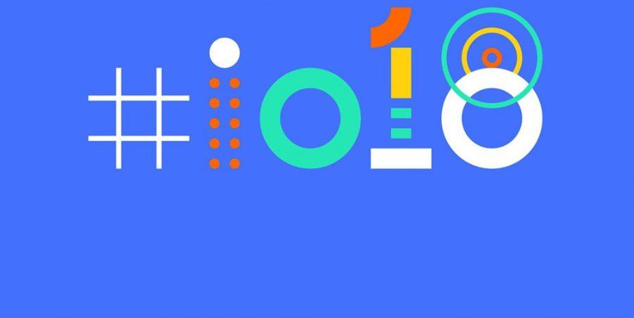 The Google IO 2018 logo