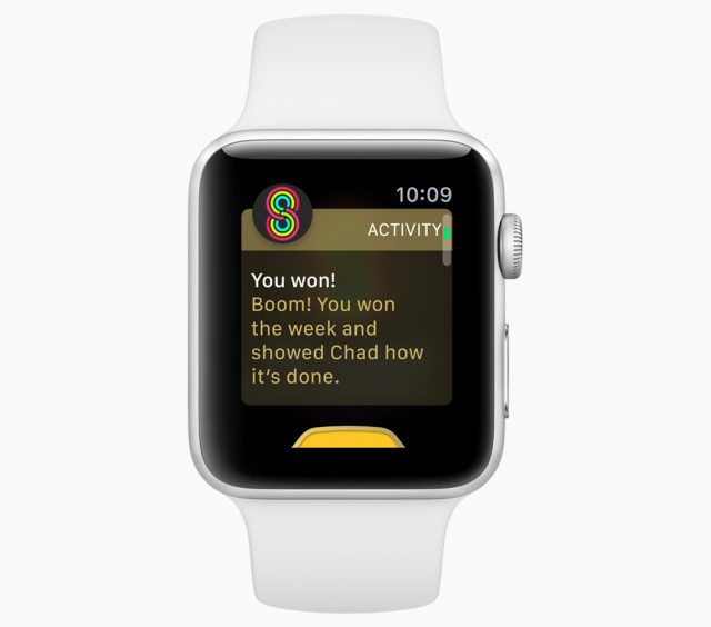 Activity Competitions in watchOS 12