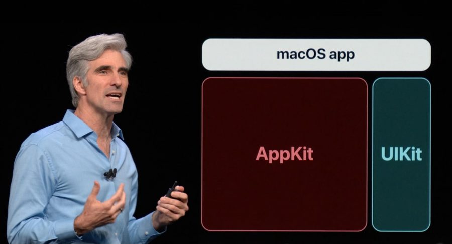 Craig Federighi introducing UIKit for macOS