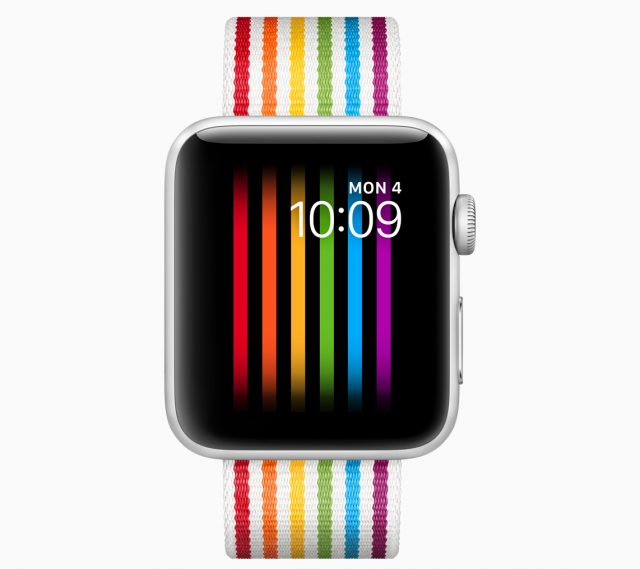 The pride band and watch face