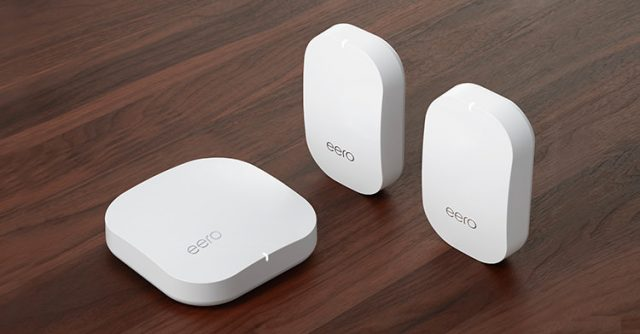 The Eero router system.
