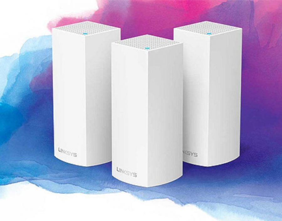 The Linksys Velop router system.