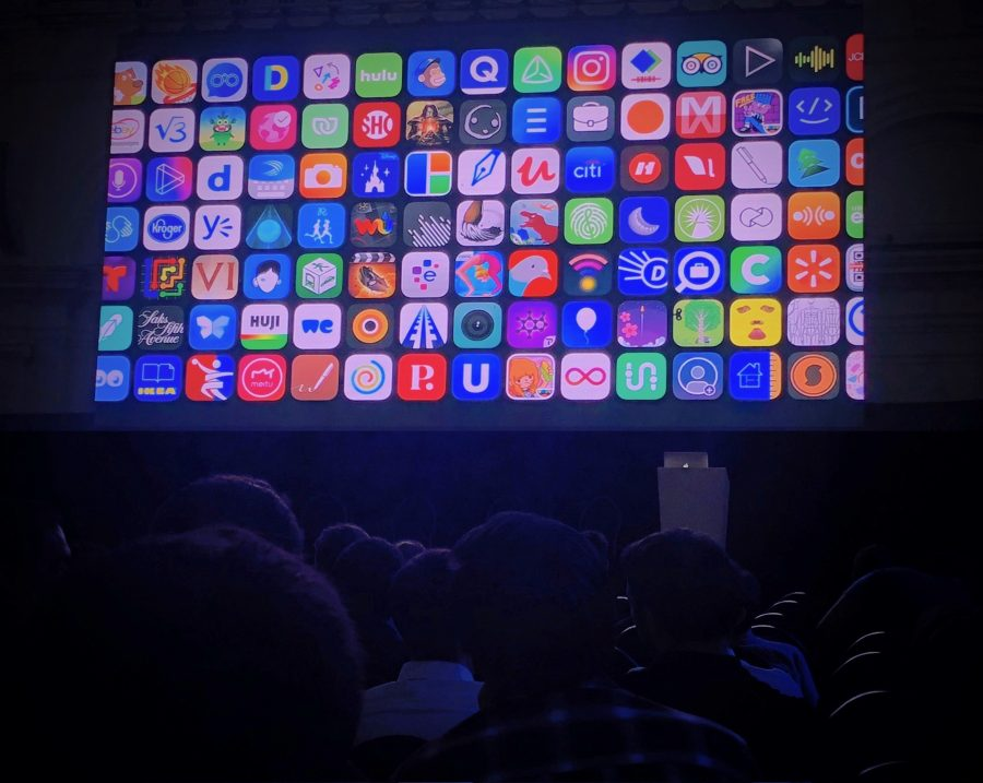 WWDC keynote at AltConf London