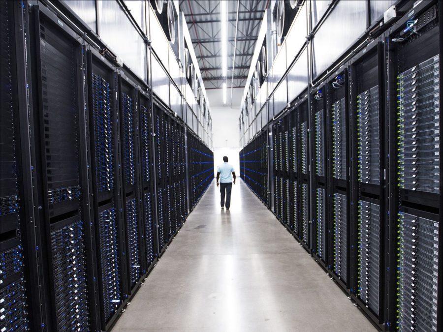 Inside Apple's Arizona data center.