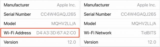 The Wi-Fi Network Name location in HomePod Settings in iOS 12