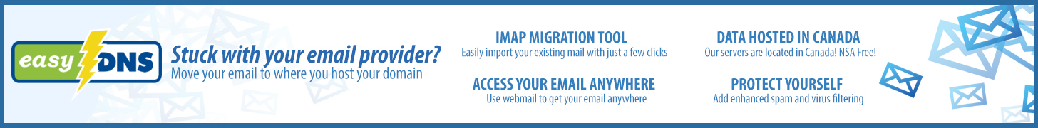 easyDNS: Stuck with your email provider? Move your email with our IMAP migration tool!