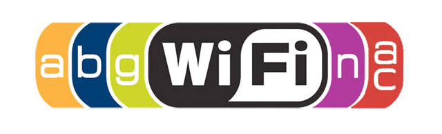 An older Wi-Fi logo showing several lettered standards as graphical additions.