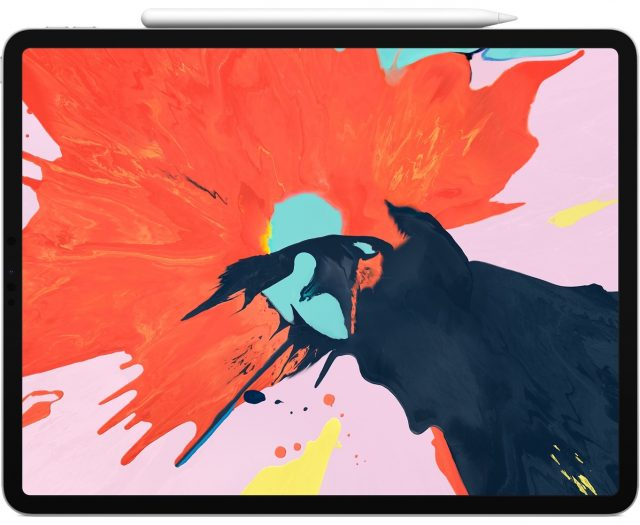The 2018 iPad Pro with the Apple Pencil 2.