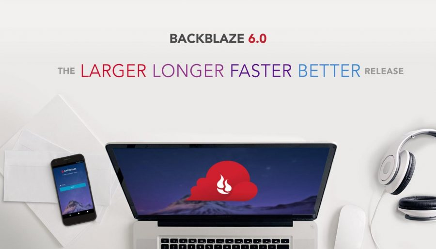 The Backblaze 6.0 banner.