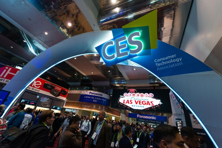 The CES Sands entrance.