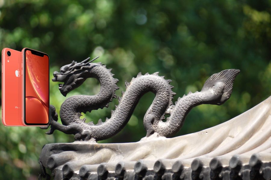 Photo of a Chinese dragon using an iPhone XR