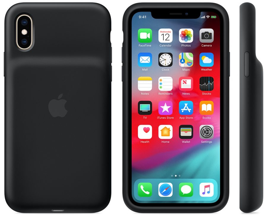 The iPhone XS Smart Battery Case.