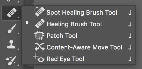 Pixelmator Pro repair tools.