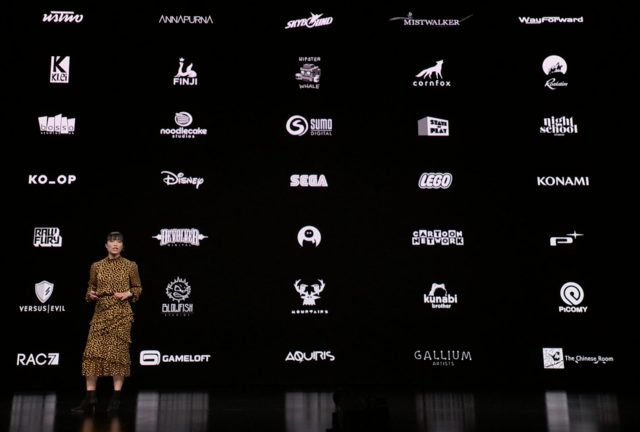 Apple Arcade launch partners.